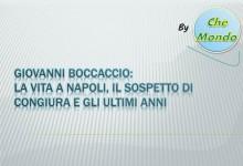 Giovanni Boccaccio: riassunto vita