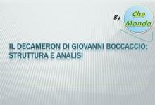 Giovanni Boccaccio – Decameron : struttura e analisi