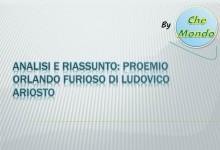 Analisi e riassunto: Proemio Orlando Furioso di Ludovico Ariosto